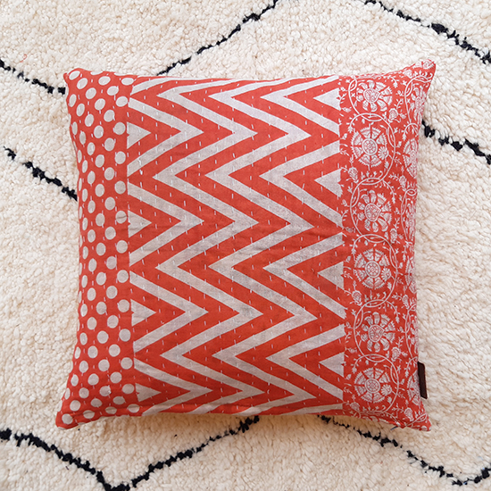 Q64284 Kantha Cushion