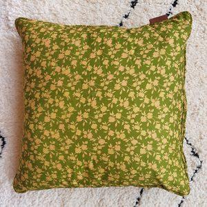 indian silk cushion