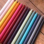din candle colours