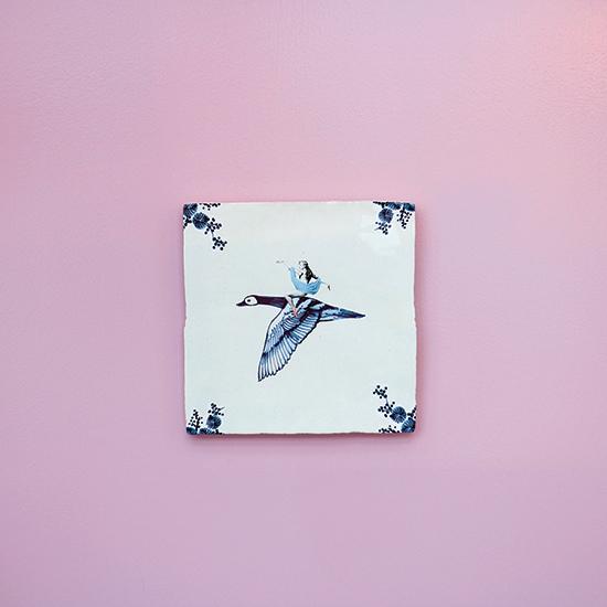 free as a bird wall
